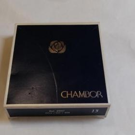 Пудра Chambor Silver Shadow Compact Powder пудра + зап. блок. Новая !